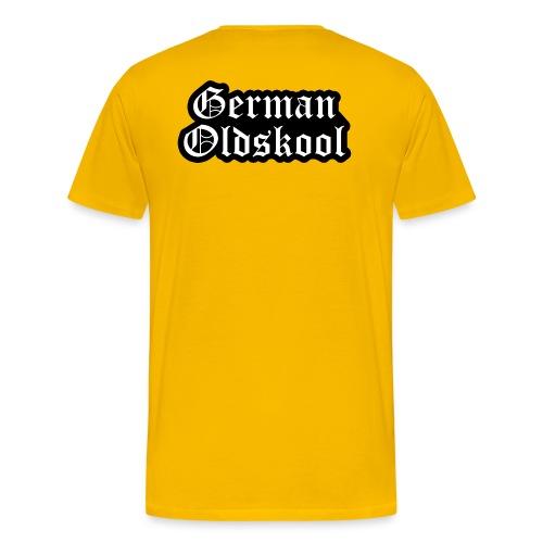 Grand Logo German Oldskool Official - T-shirt Premium Homme