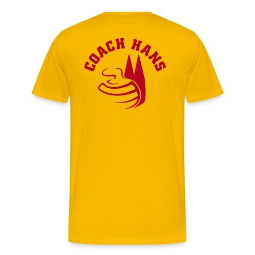 coach Hans - Männer Premium T-Shirt