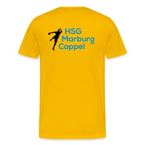 HSG Handballer Blau - Männer Premium T-Shirt
