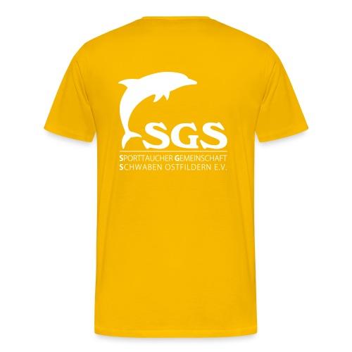 SGS Komplettlogo 2 - Männer Premium T-Shirt