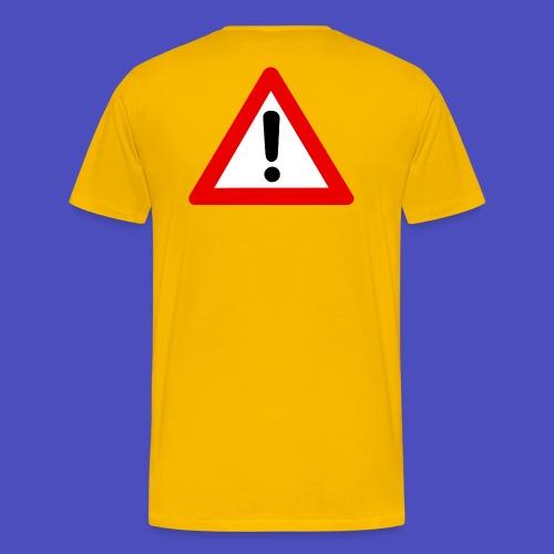 cuidado jpg - Camiseta premium hombre