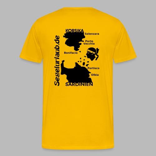 Korsika Sardinien Mori Shirt - Männer Premium T-Shirt