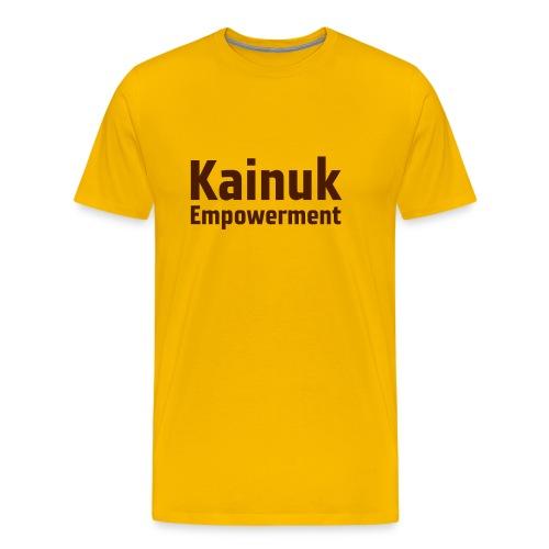 KainukEmpowerment-Text - Mannen Premium T-shirt