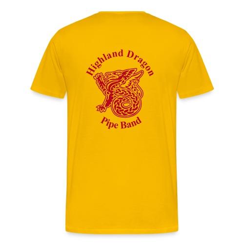 pipeband - Männer Premium T-Shirt