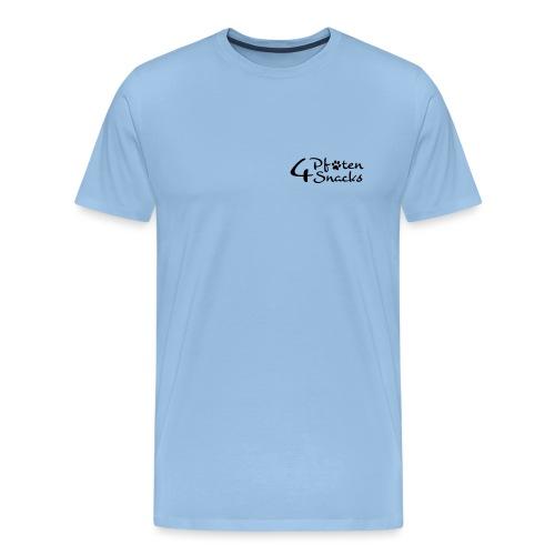 logo_4pfoten_neu_CMYK - Männer Premium T-Shirt