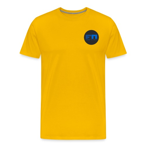 FN Circle T Shirt png - Premium-T-shirt herr