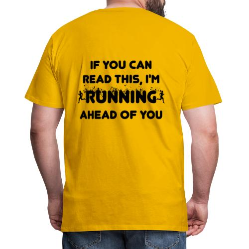 Lauf Joggen Running - Männer Premium T-Shirt
