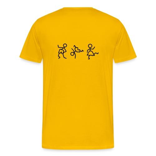 tanzende_maennchen - Männer Premium T-Shirt