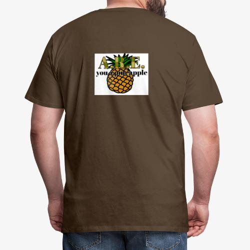 Are you a pineapple - Men's Premium T-Shirt