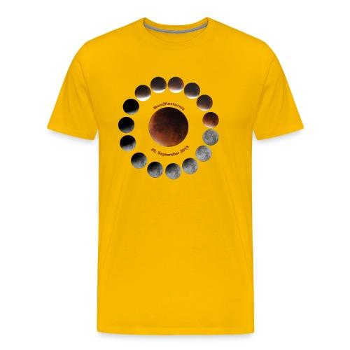 Mondfinsternis 2015 - Männer Premium T-Shirt