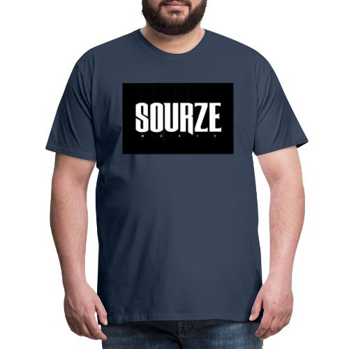 Sourze Music - Männer Premium T-Shirt