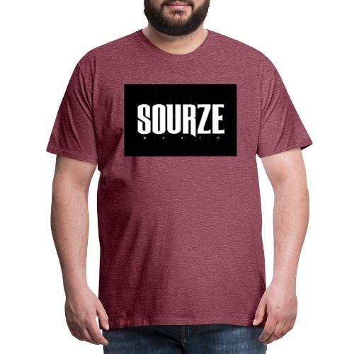 Sourze Music - Männer Premium T-Shirt