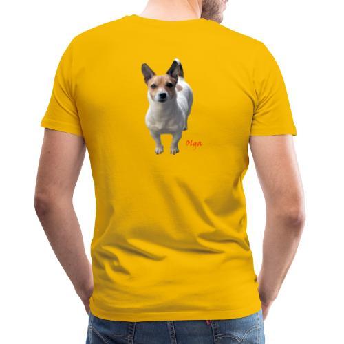 TIAN GREEN - Princess Olga - Männer Premium T-Shirt