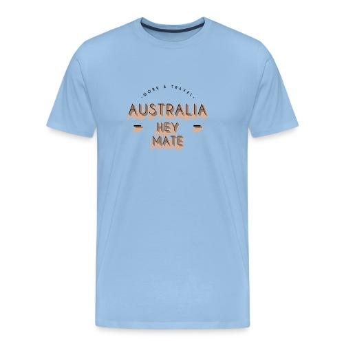 AUSTRALIA Work and Travel Geschenkidee - Männer Premium T-Shirt