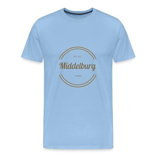 Middelburg 1217 - Mannen Premium T-shirt