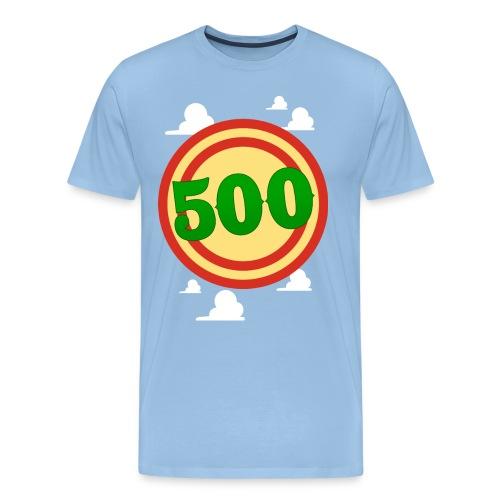 Target in the Clouds - Men's Premium T-Shirt