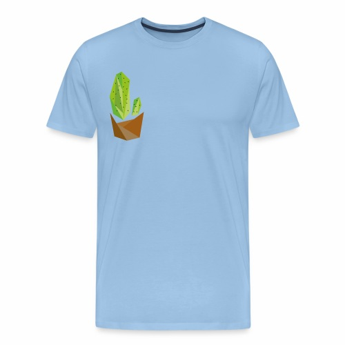 Geometric Cactus - Men's Premium T-Shirt