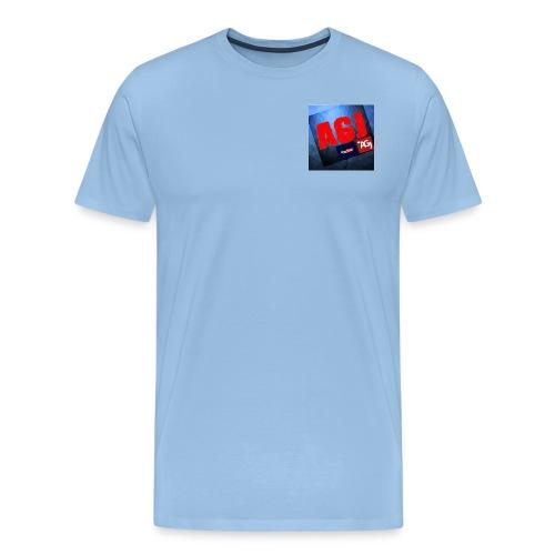 AGJ Nieuw logo design - Mannen Premium T-shirt