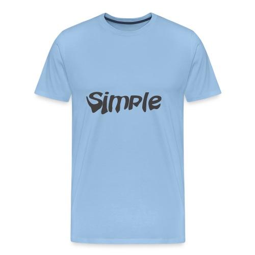 Simple verlaufend - Männer Premium T-Shirt