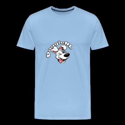 DoggieNL Logo - Mannen Premium T-shirt