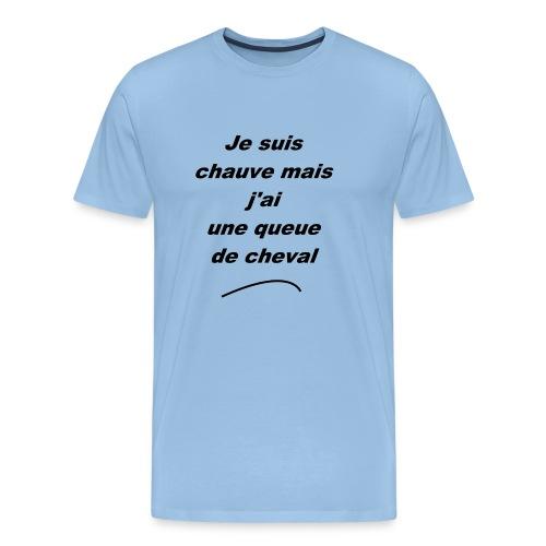 jesuischauve-v1 - T-shirt Premium Homme