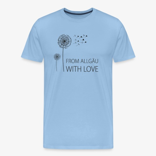 From Allgäu with love - Männer Premium T-Shirt