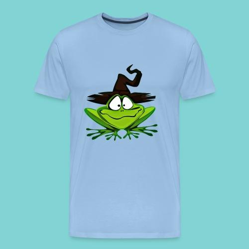 Froggy Potter - Camiseta premium hombre