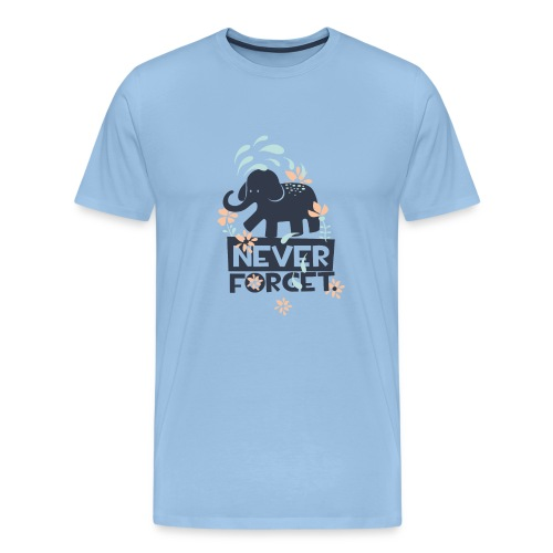 Never forget Tees - Men's Premium T-Shirt