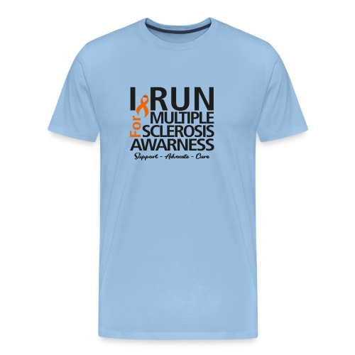 run black - Männer Premium T-Shirt