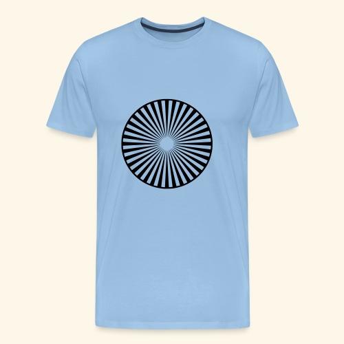 Ornament Kreis Sonne - Männer Premium T-Shirt