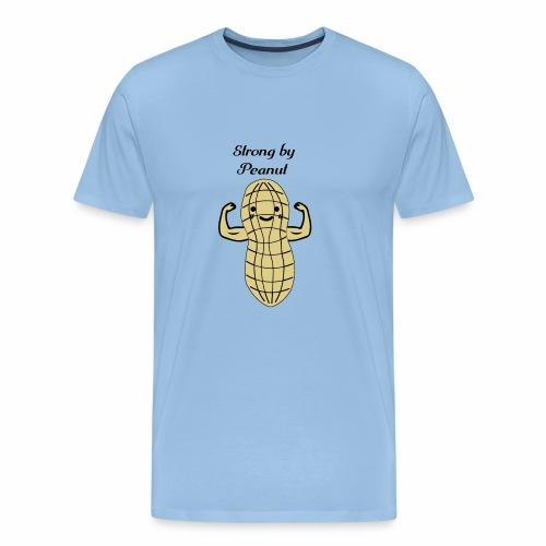 Strong Peanut Bodybuilding Powerlifting Lifting - Männer Premium T-Shirt