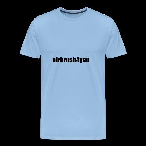Airbrush4You Black - Männer Premium T-Shirt