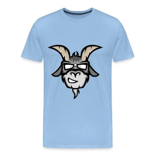 Logo only - Mannen Premium T-shirt