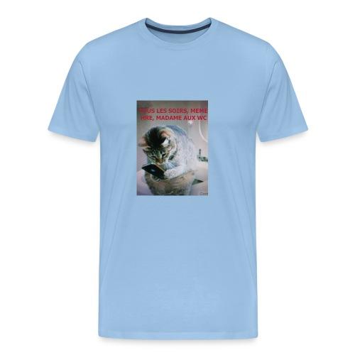 MA FEMME AH le ROYAUME des FEMMES Oui OUI - T-shirt Premium Homme