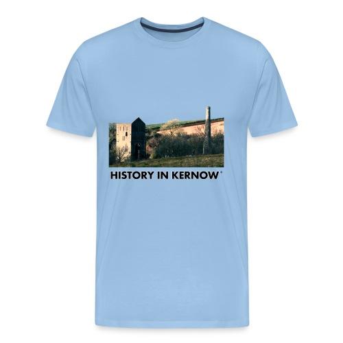 HISTORY IN KERNOW EAST WHEAL ROSE - Men's Premium T-Shirt