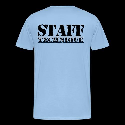 staff tech - T-shirt Premium Homme