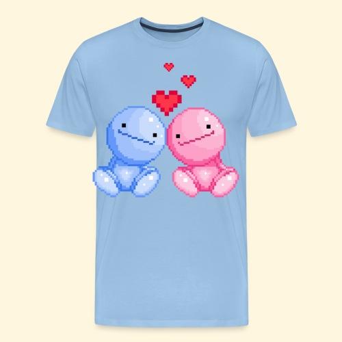 Nohohon amoureux de la Saint Valentin - T-shirt Premium Homme