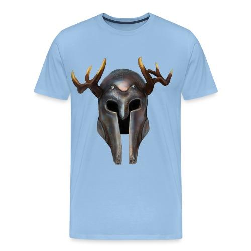 Casque Vikings Hircine - T-shirt Premium Homme