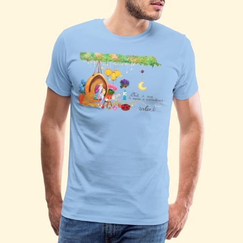 Tout à coup, le temps a considérablement ralenti - T-shirt Premium Homme