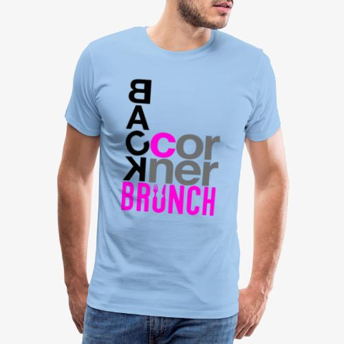 #BackCornerBrunch Summer Drop - Men's Premium T-Shirt