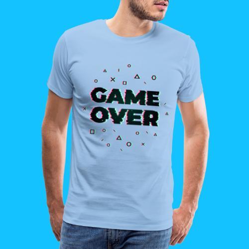 GAME OVER - Koszulka męska Premium