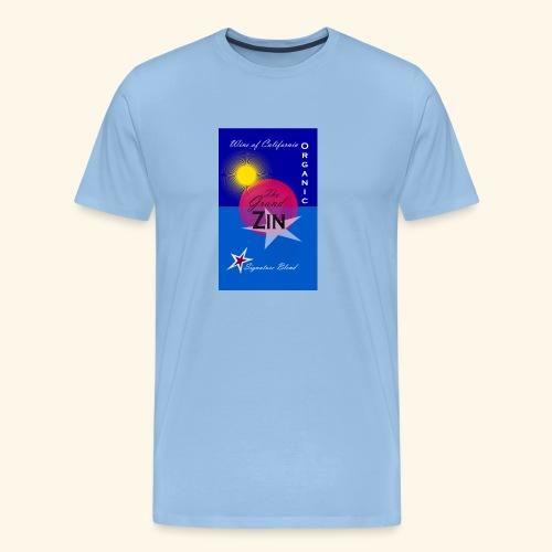 wine at playa summernight - Premium-T-shirt herr