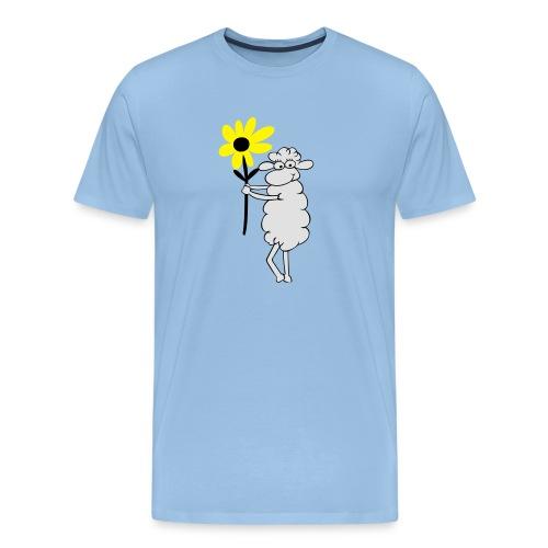 blumengeschenk_3farb - Männer Premium T-Shirt