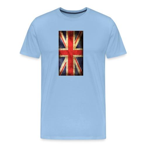 English Flag jpg - Premium-T-shirt herr