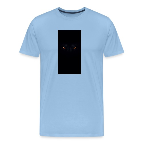 black-wolf-eyes - Männer Premium T-Shirt