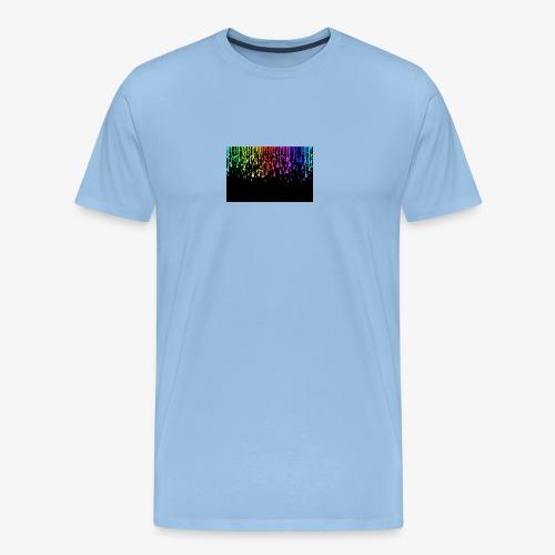 Water drops cool effect - Men's Premium T-Shirt