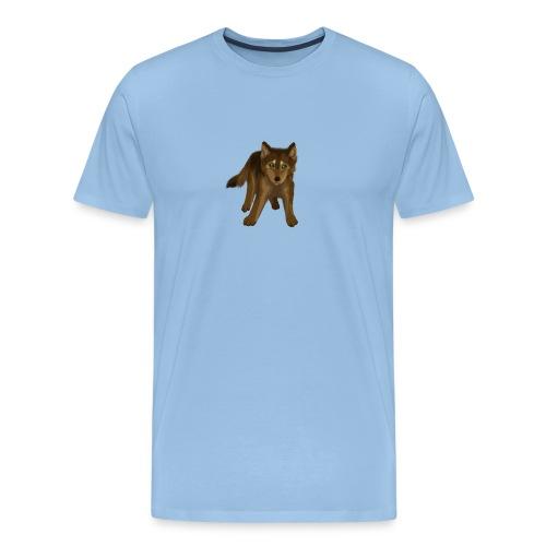 Wolf klein - Männer Premium T-Shirt
