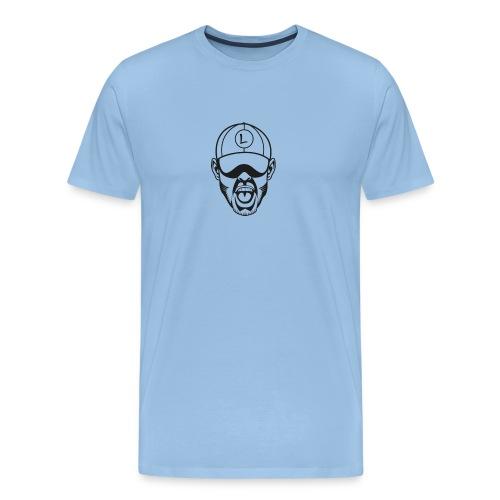 Logevu head - Mannen Premium T-shirt
