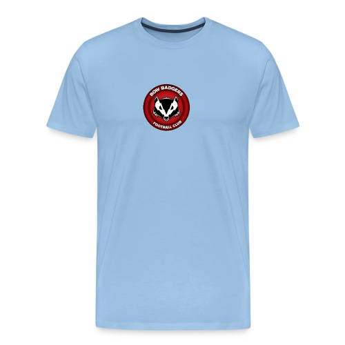 bow badgers logo - Men's Premium T-Shirt