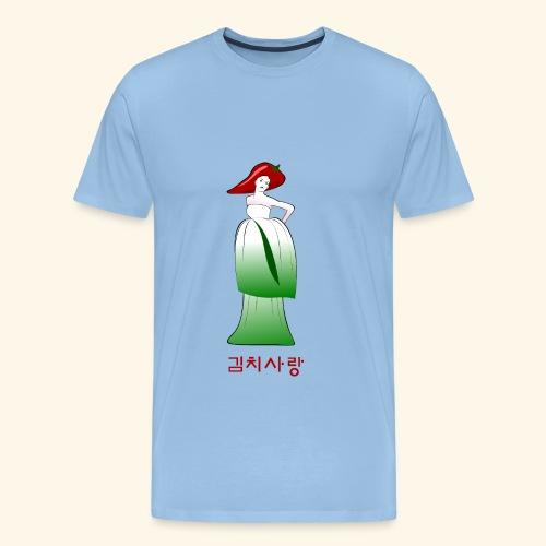 Kimchi Liebe - Männer Premium T-Shirt
